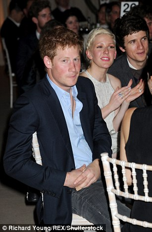 Prince Harry was with Ellie at the same event in 2011