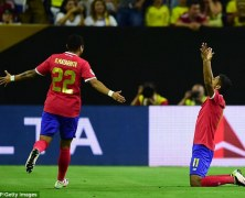 Video: Colombia vs Costa Rica