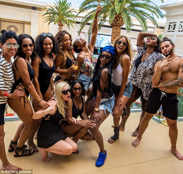 Too much fun! Serena posed with her pals including Ciara and Kelly Rowland at the Wynn Las Vegas for Ciara's bachelorette