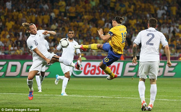Ibrahimovic has captained Sweden for a number of years and popped up with some very important goals