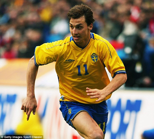 The Sweden legend made his debut for his national team in 2001 and is his country's record goalscorer