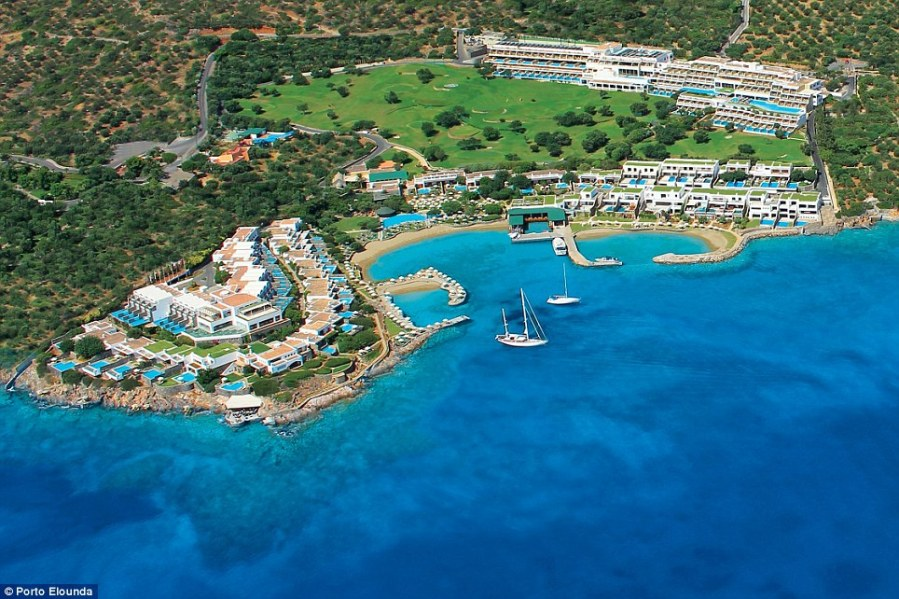 Welcome to Crete s most luxurious hotel chain   Daily Mail Online The Elounda complex is a high end resort that covers almost 30 acres in  total