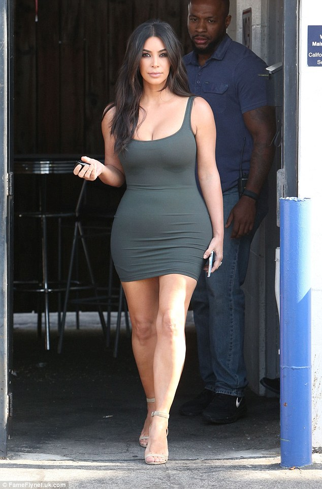 Dropping it! Kim Kardashian, pictured in June in Van Nuys, has shed over the last two weeks seven pounds, according to E!