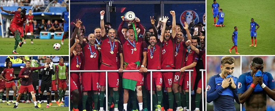 Euro 2016  UEFA European Championship football news  fixtures     Portugal 1 0 France  AET   Eder strike sees Fernando Santos  side