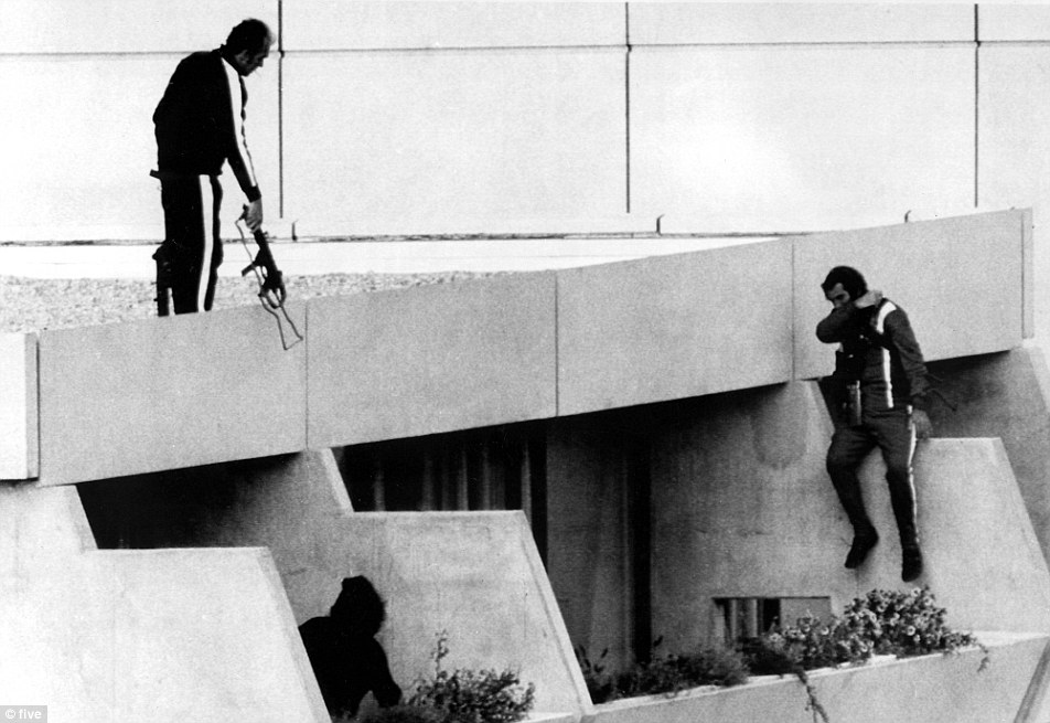 Today's terror in a shopping centre is near the Munich Olympic stadium and has revived memories of the horror that overshadowed the German city's hosting of the 1972 Olympic Games