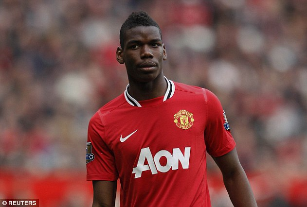 Pogba left Old Trafford on a free transfer in 2012 after a lack of first-team opportunities