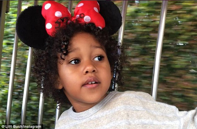 Mouseketeer! Lilit celebrated her daughter's third birthday in May with a sweet snap of her wearing a Minnie Mouse hat