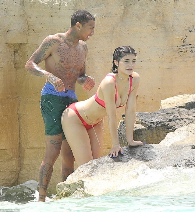 Image result for kylie and tyga hottest moments