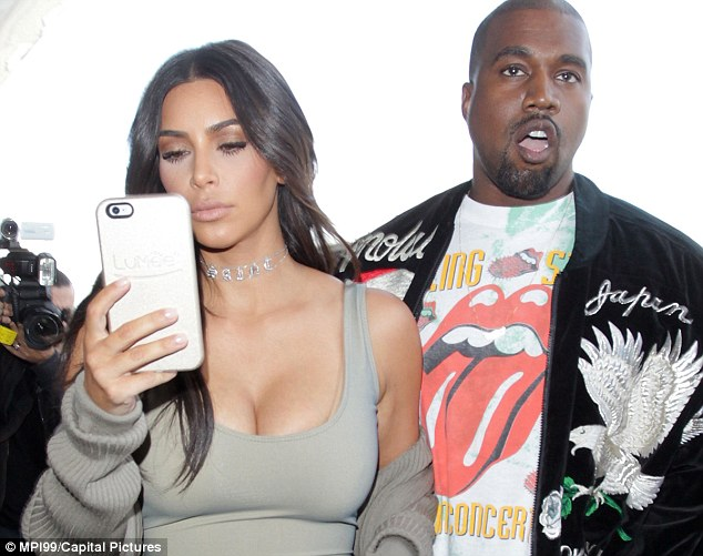 Kim Kardashian and Kanye West (pictured) spend a lot of time in Paris and know the city well