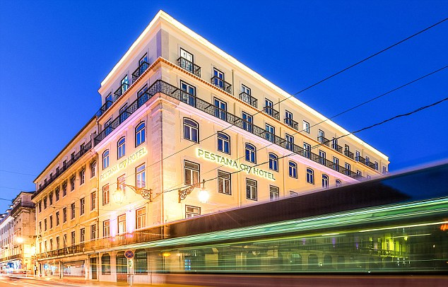 The new hotel is located in Lisbon, 50 metres from the Prace de Comercio riverside square
