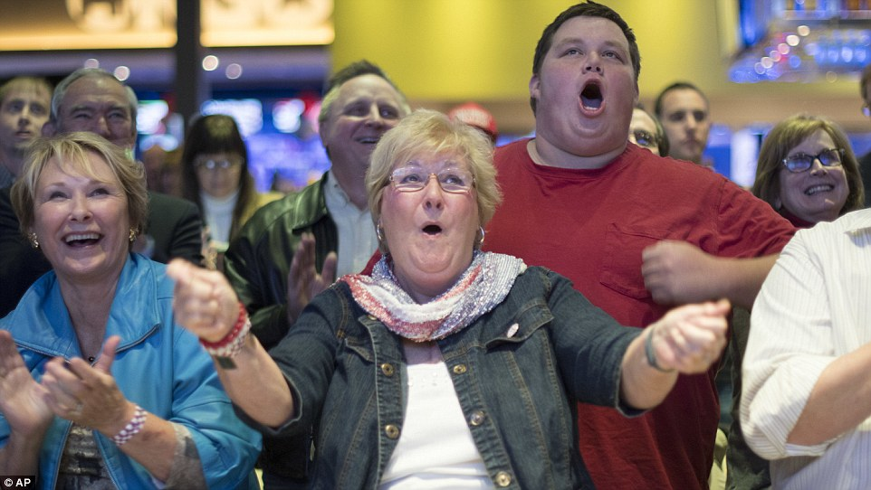 Feeling OK: Oklahoma City residents thrilled as Donald Trump took another state on Tuesday