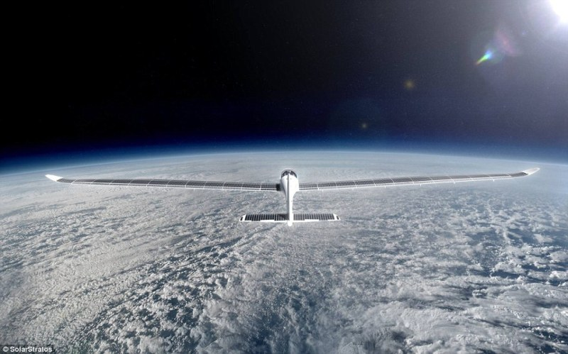 The plane and hangar will be launched publicly on December 7th, with the mission set to take place in 2018. From up so high, passengers will be able to see first-hand the curvature of the Earth and witness the stars during the daytime