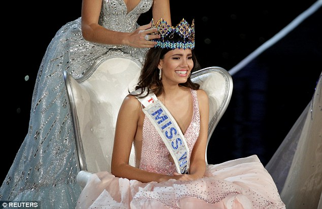 Student Stephanie del Valle of Puerto Rico, 19, from Puerto Rico, was crowned Miss World 2016 this weekend, edging out more than 100 beauties from around the globe