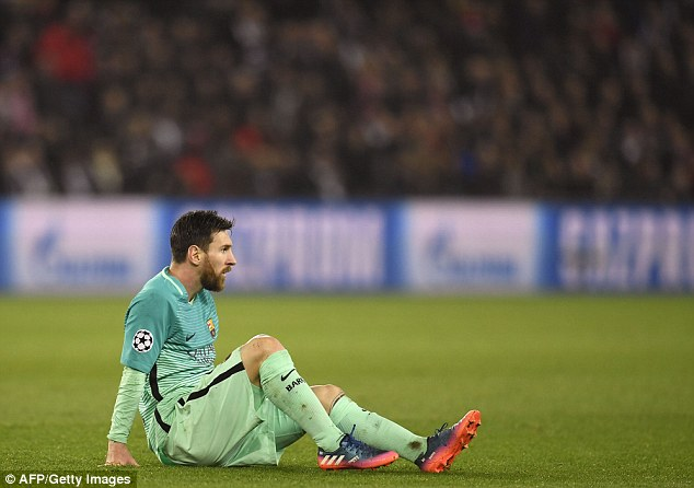 Image result for Lionel Messi PSG 4-0