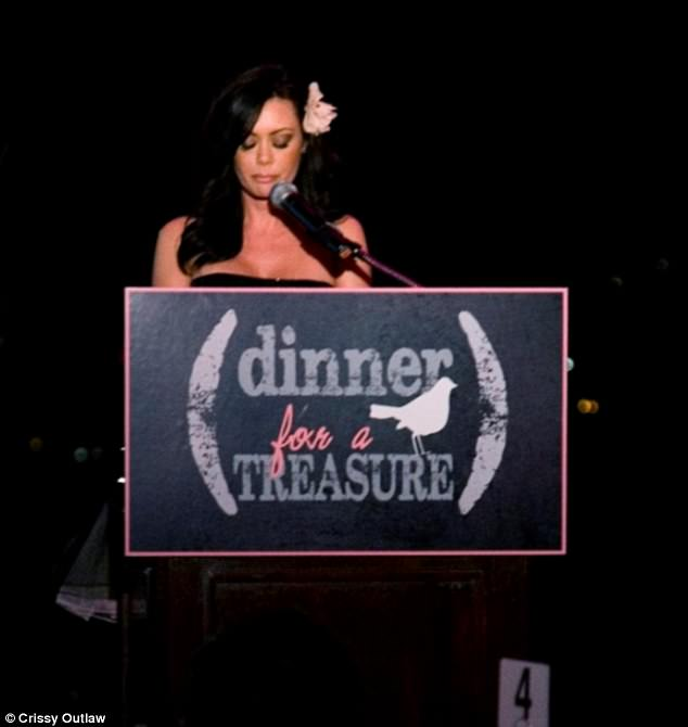 When Crissy gives her speeches, she typically begins with:'Hi, my name is Crissy and I used to be a porn star'. The 41-year-old has also become somewhat of a guru-in-chief on her YouTube channel, where she warns her followers to avoid repeating her 'mistakes'