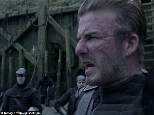 Image result for David Beckham stars in Hollywood film