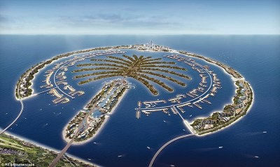 Dubai plans a £1.3bn project on new artificial islands | Daily Mail Online