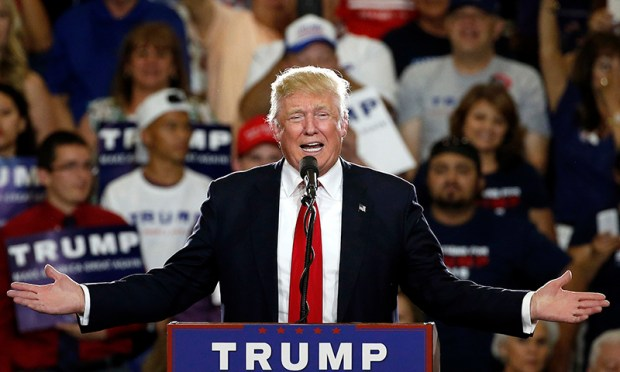 According to an AP count: Trump has reached the number of delegates needed to clinch the Republican nomination for president. ─AP