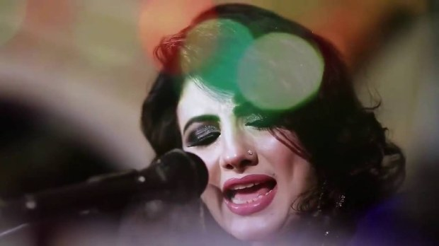 Singer Nazia Iqbal was forced to quit singing by kidnappers of her sons. Now, she's back with a new album - Screengrab