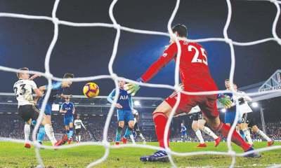 Winks scores last-gasp winner for Spurs at Fulham - Newspaper - DAWN.COM