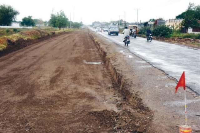 The incomplete Mandra-Chakwal Road. — Dawn