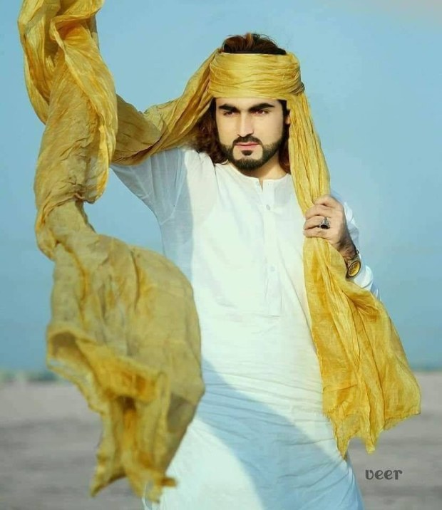 A photo of Naqeebullah provided by his relative in which he appears to be modelling.