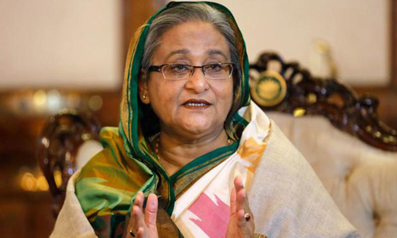 The comments about the state of bilateral ties are timely as Hasina Hasina received a phone call from Prime Minister Khan on Wednesday.  — Photo courtesy Reuters/File