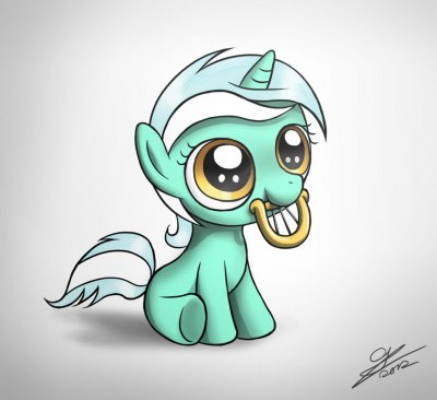 Filly Lyra for TeiThePony by Dori-to