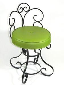 vintage wrought iron chairs rot furniture