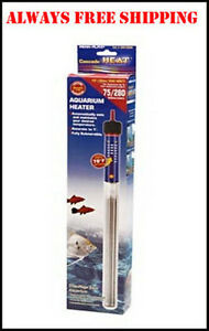 CASCADE 300 WATT SUBMERSIBLE HEATER 12 INCH FOR 75 125 GALLON AQUARIUM
