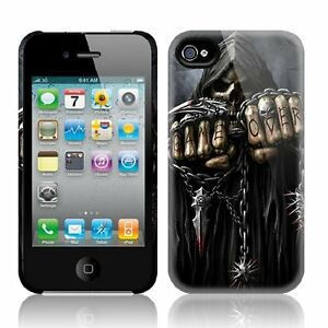 Spiral Direct GAME OVER Apple iPhone 4/4S Mobile Phone Case/Cover biker/tattoo | eBay