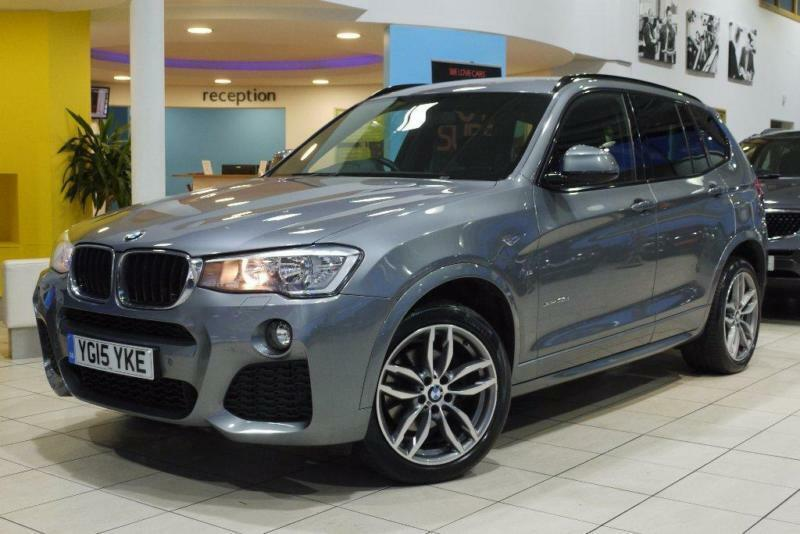 2015 BMW X3 2.0 XDrive20d M Sport 5dr