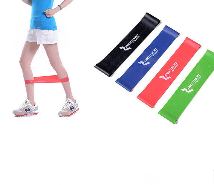 Sport Strength Training Band Loop Exercise Fitness Yoga ...