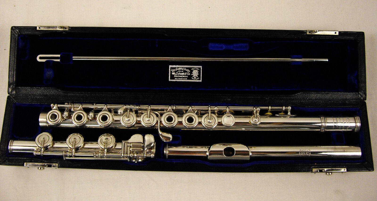 William S. Haynes Professional Handmade Flute Soldered Tone Holes Low B Wow