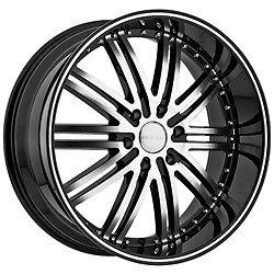 22 Inch Menzari Z08 Staggered black wheels rims 5x120 BMW 6 7 series Range Rover   eBay