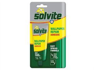 Solvite Wallpaper Repair Adhesive 56g Tube Also For Overlapping Seams   eBay