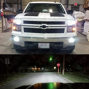 White LED H11 Low Beam Headlight   5202 Fog Light Bulbs For 2015     Image is loading White LED H11 Low Beam Headlight 5202 Fog