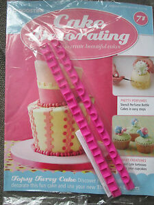 Deagostini Cake Decorating Magazine ISSUE 71 WITH 2 X THIN SHAPE     Image is loading Deagostini Cake Decorating Magazine ISSUE 71 WITH 2