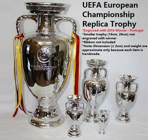 Replica UEFA European Championship Trophy Euro Cup Europe Nations     Image is loading Replica UEFA European Championship Trophy Euro Cup Europe