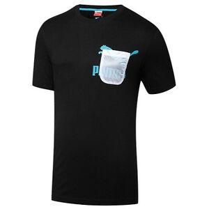 Puma Sport Lifestyle Translucent Pocket Mens T/Tee Shirt ...