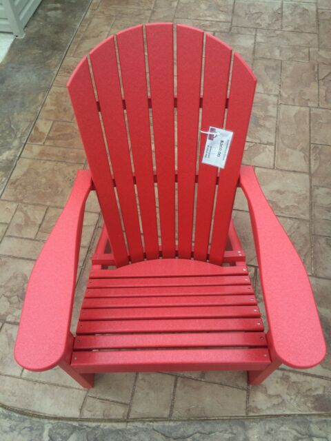 Berlin Gardens Poly Adirondack Chair  Outdoor Furniture