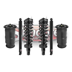 2002 2009 GMC Envoy Air Suspension Rear Shocks with Springs   Front     Image is loading 2002 2009 GMC Envoy Air Suspension Rear Shocks