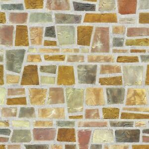 Fragment Stone Effect Self Adhesive Wallpaper Home Depot PVC Peel Stick Paper | eBay