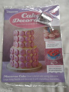 DeAGOSTINI CAKE DECORATING MAGAZINE LARGE ICING NOZZLEL No 96 NEW     Image is loading DeAGOSTINI CAKE DECORATING MAGAZINE LARGE ICING NOZZLEL No