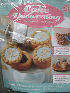 Deagostini Cake Decorating Magazine ISSUE 73 BASKETWEAVE   FRENCH     Image is loading Deagostini Cake Decorating Magazine  ISSUE 73 BASKETWEAVE amp