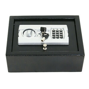 Electronic Safe Drawer Pistol Box Lock Storage Safes Cabinet Home Security Gun 692752556395 | eBay
