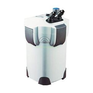 AQUARIUM CANISTER FILTER 9W UV STERILIZER 265 GPH FRESH SALT 75 Gallon