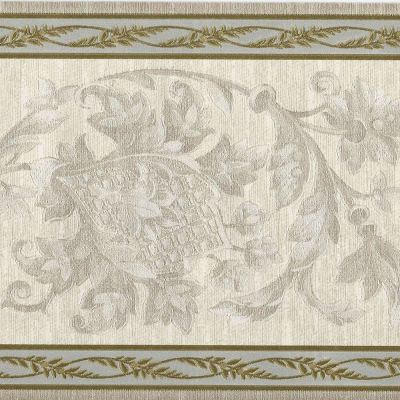 Victorian Architectural Scrolls - Ivory Satin - ONLY $9 - Wallpaper Border A232 | eBay