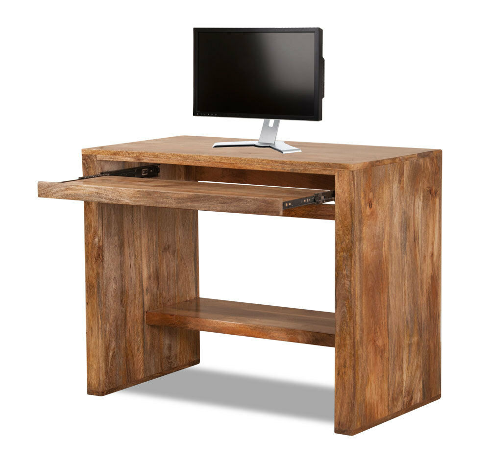 Perky Dakota Light Mango Computer Table Desk Solid Wood Like Oak Indian Furniturenew Ebay Dakota Light Mango Computer Table Desk Solid Wood Like Oak Indian Solid Wood Desk Ikea Solid Wood Desk Small baby Solid Wood Desk