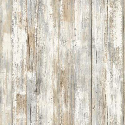 RMK9050WP Distressed Wood Peel and Stick Wallpaper FREE SHIPPING | eBay